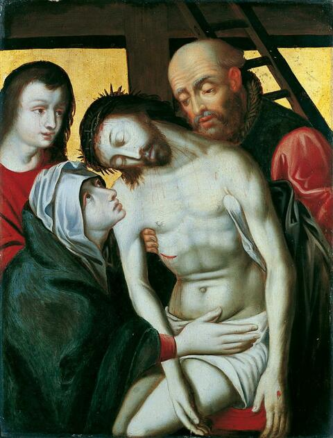 Rogier van der Weyden, Nachfolge - DIE KREUZABNAHME.