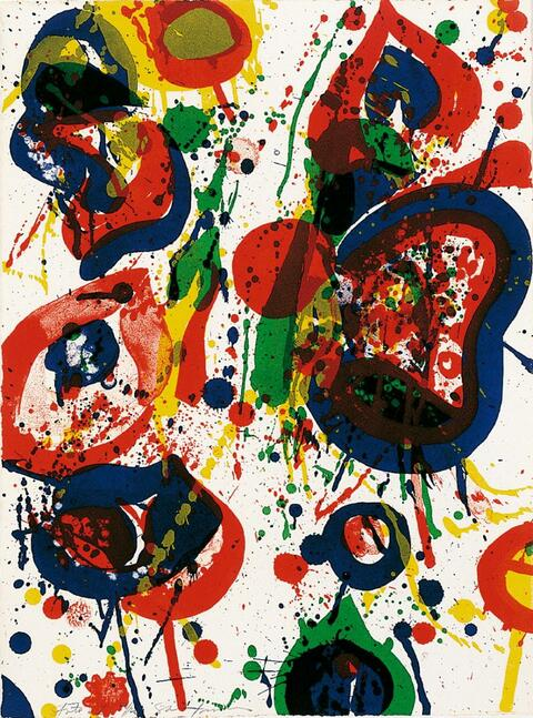 Sam Francis - An 8 set - 3