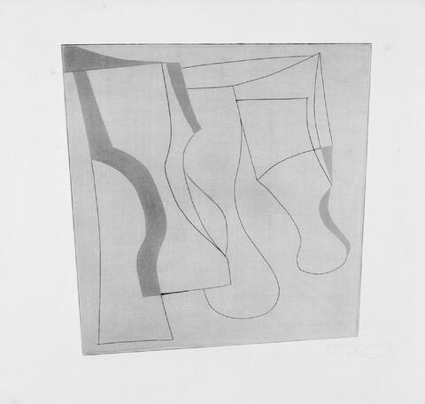 Ben Nicholson - Still life with grey
