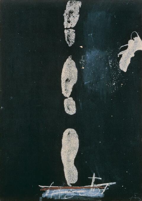 Antoni Tàpies - Empreintes de Pas