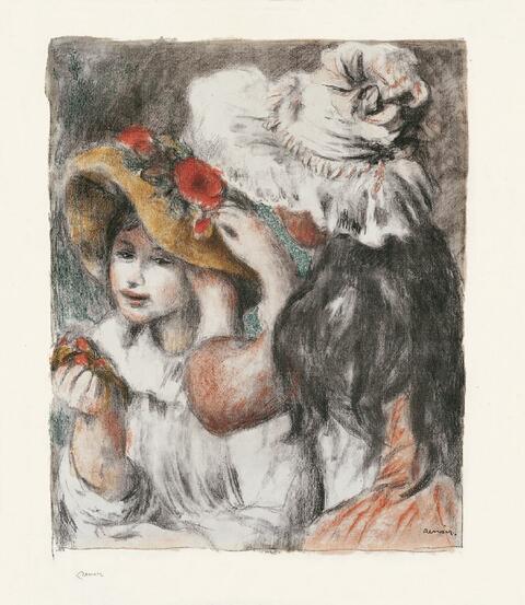 Pierre-Auguste Renoir - Le Chapeau épinglé, 2e planche