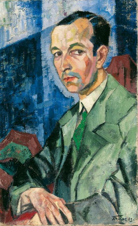 Hans Thuar - Porträt eines Freundes