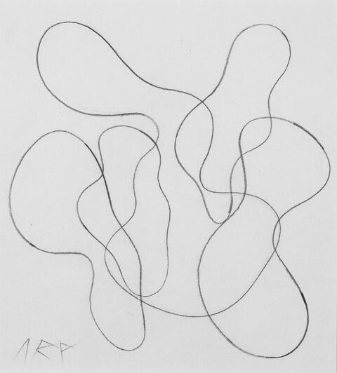 Hans Arp - Komposition