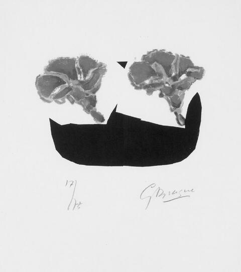 Georges Braque - Les Volubilis