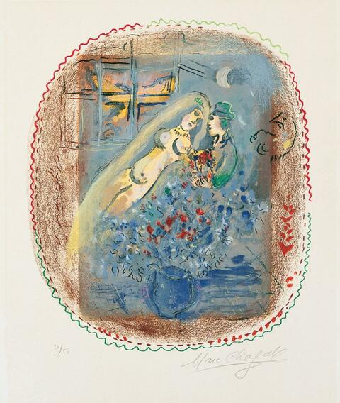 Marc Chagall - Widmung