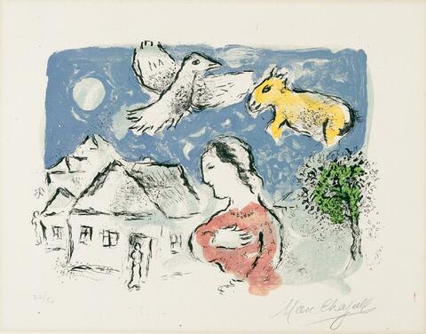 Marc Chagall - Dorf