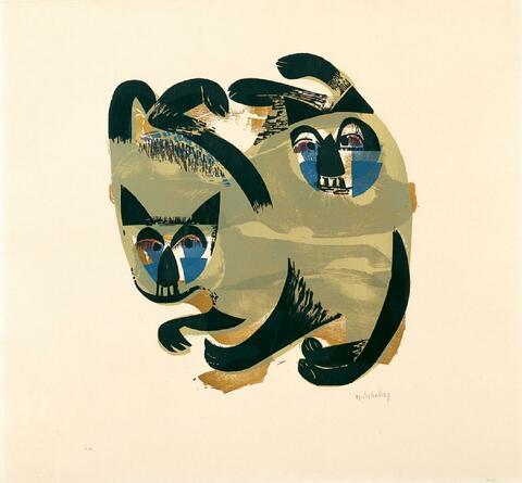 H.A.P Grieshaber - Siamkatzen