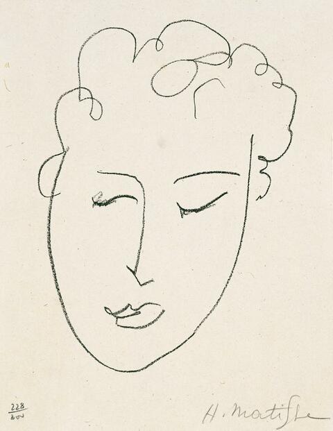 Henri Matisse - Zu: Jules Romains, Pierres levées