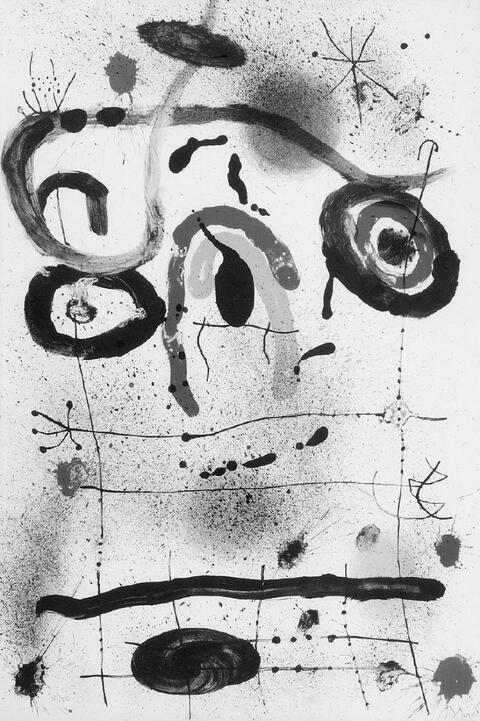 Joan Miró - Personnage au-dessus de l'Horizon