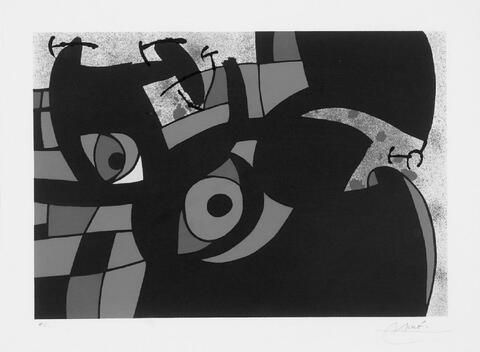 Joan Miró - aus: Le Lézard aux plume d'or