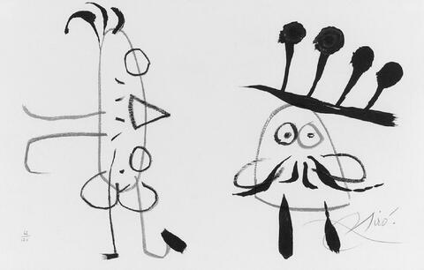 Joan Miró - Zu: L'enfance d'Ubu