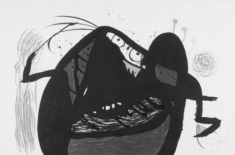 Joan Miró - L'aieule des 10 000 Âges