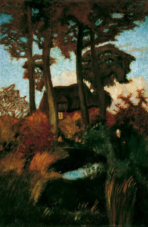 Otto Modersohn - Das alte Haus
