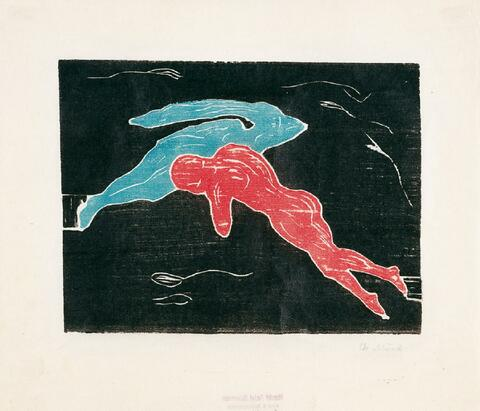 Edvard Munch - Begegnung im Weltall
