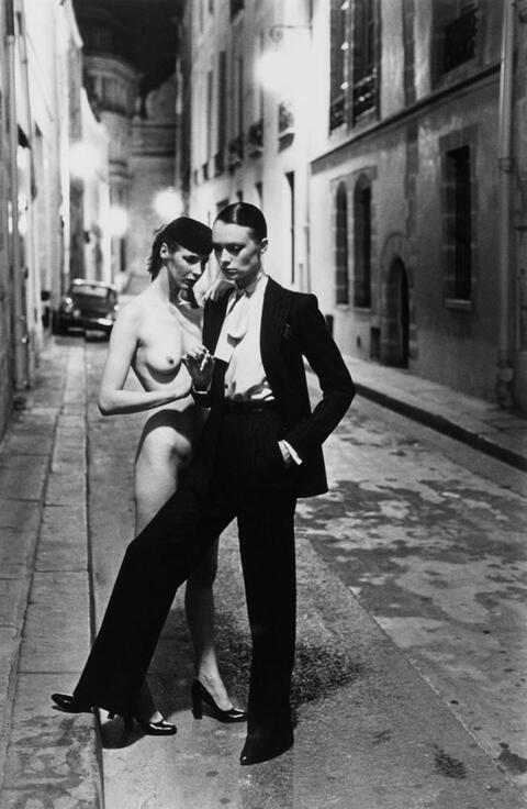 Helmut Newton - Rue Aubriot, Paris