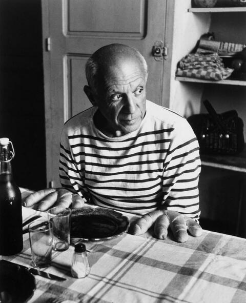 Robert Doisneau - Picasso