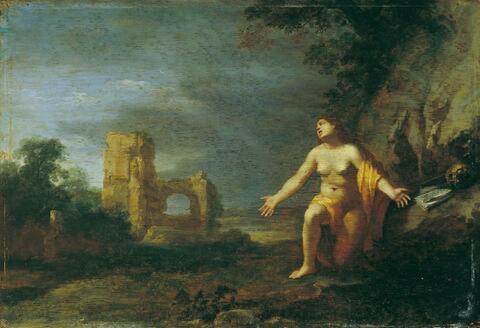 Cornelis van Poelenburgh, Werkstatt - LANDSCHAFT MIT DER BÜSSENDEN HL.