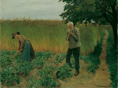 Friedrich Kallmorgen - DIE BEIDEN ALTEN.