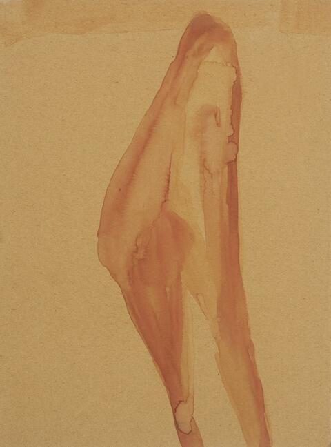 Joseph Beuys - Ohne Titel (Weiblicher Akt)