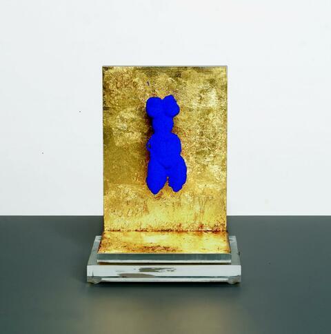 Yves Klein - Petite Vénus Bleue