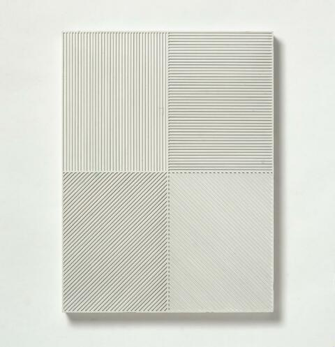 Sol LeWitt - Maquette for Project (Wall Project, Chicago, Illinois)