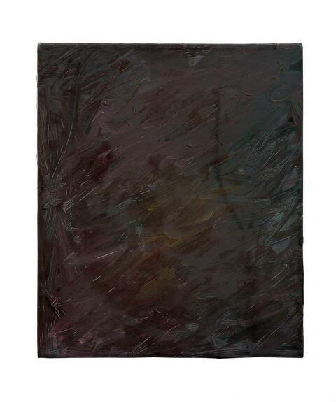 Gerhard Richter - Ohne Titel (braun-rot)