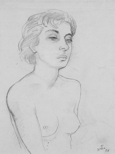 Fernando Botero - Porträt Ida Neri