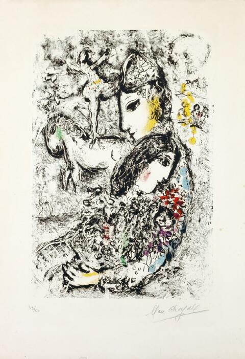 Marc Chagall - Die Zauberer