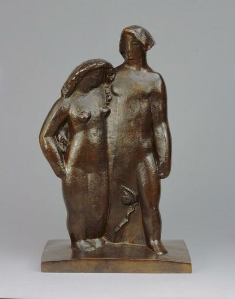 Joseph Csaky - Adam et Eve