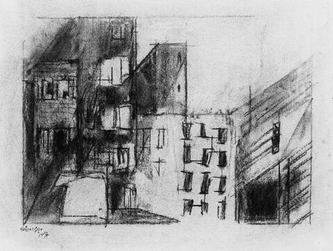 Lyonel Feininger - Häuser