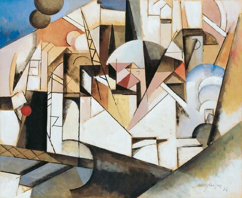 Albert Gleizes - Paysage