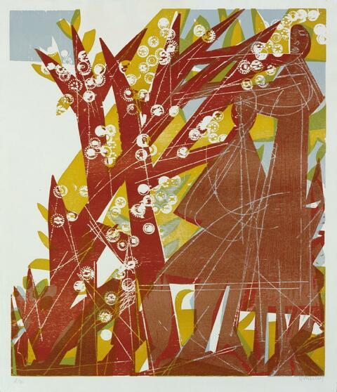 H.A.P Grieshaber - Das rote Paar