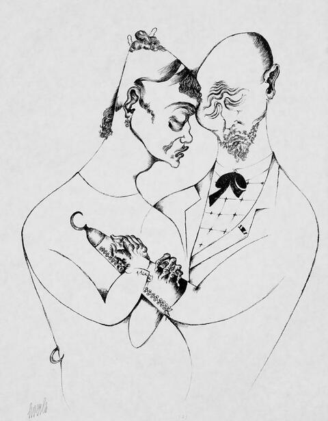Heinrich Hoerle - Der Krüppel