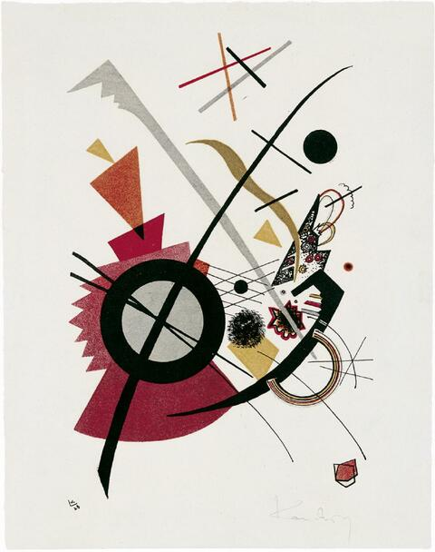 Wassily Kandinsky - Violett