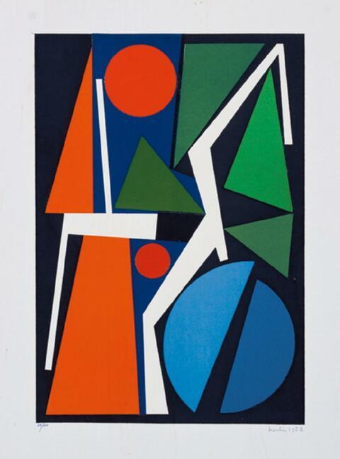 Mappenwerk - Art d'aujourd'hui. Maîtres de l'art abstrait. Album I