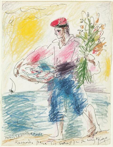 Pablo Picasso - Jeune Pêcheur Catalán