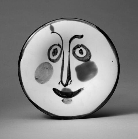 Pablo Picasso - Visage no. 197