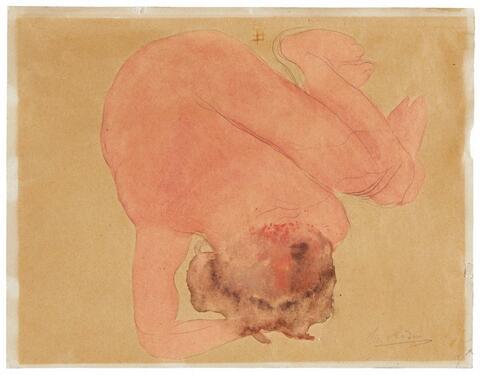 Auguste Rodin - Femme accroupie de dos