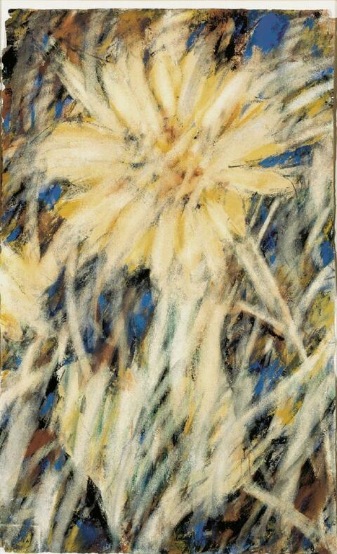 Christian Rohlfs - Chrysanthemen