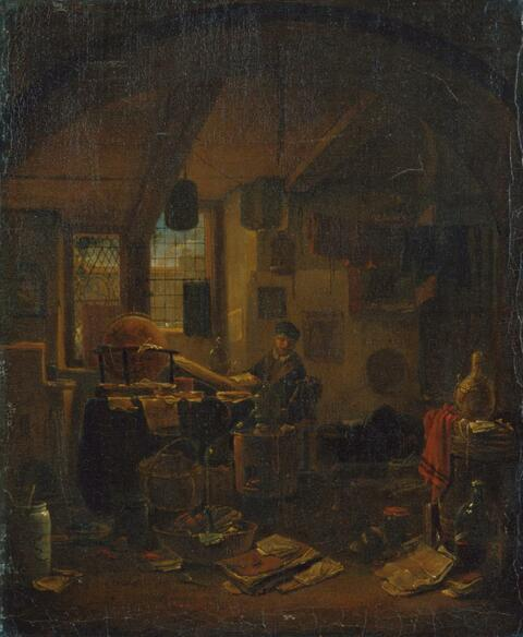 Thomas Wijck - DER ALCHIMIST IN SEINEM LABORATORIUM.