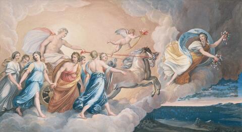 Guido Reni, Nachfolge - AURORA.