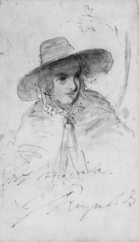 Sir Joshua Reynolds - BILDNIS MRS. MEYRICK