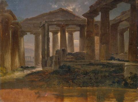 Friedrich Loos - DIE TEMPEL VON PAESTUM.