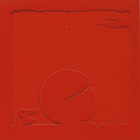 Lucio Fontana - Concetto spaziale. Teatrino Rosso