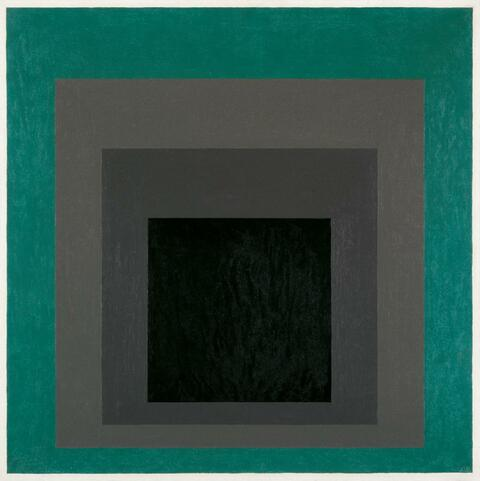 """Josef Albers - Homage to the Squares """"Stele and Patina"""""""