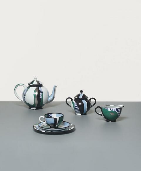 Roy Lichtenstein - Tea-set
