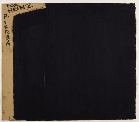 Richard Serra - Ohne Titel