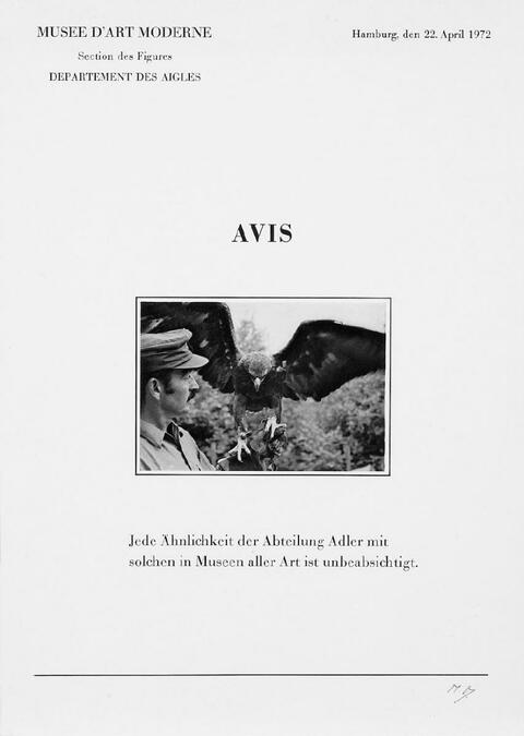 Marcel Broodthaers - Six Lettres ouvertes