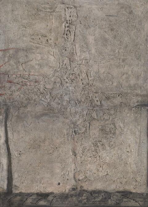 Karl Fred Dahmen - Nur eine weiße Wand