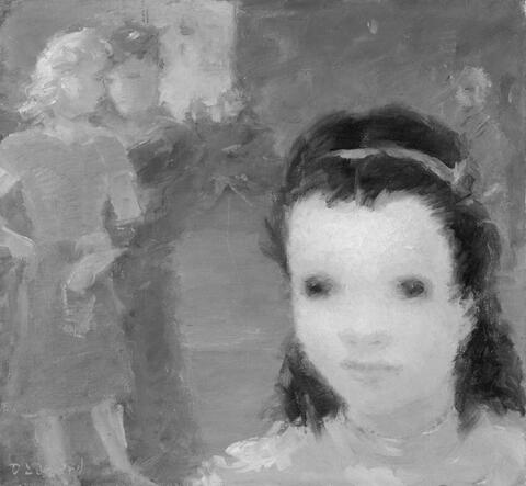 Dietz Edzard - Entfant de Montmartre. Femme nue